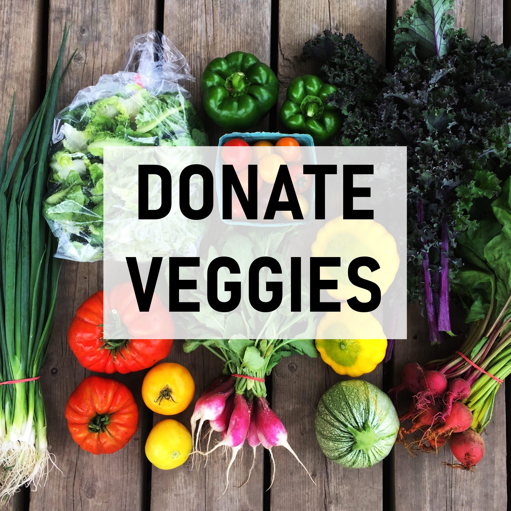 Share Veggies Donation