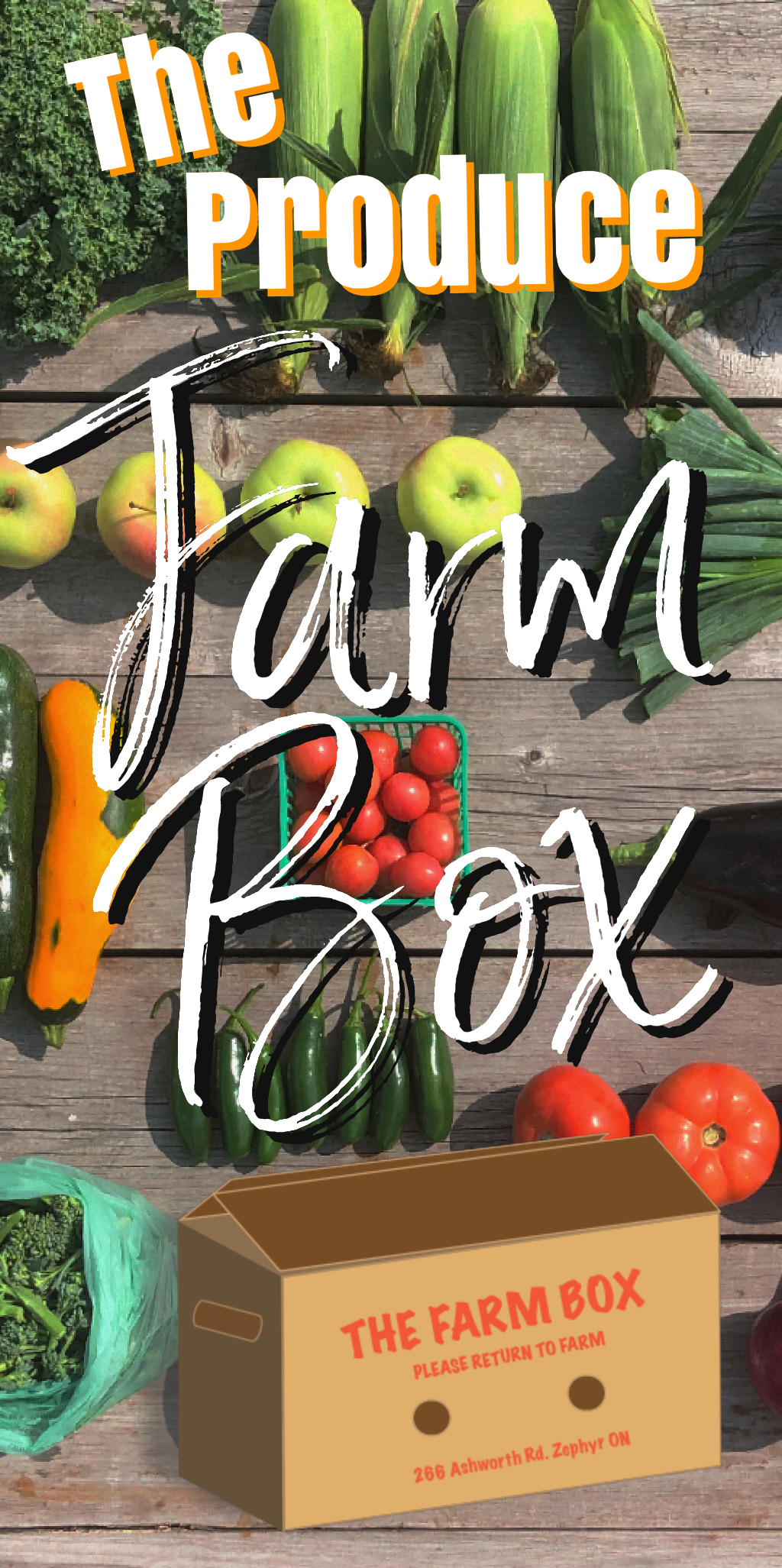 Winter Veggie Farm Box