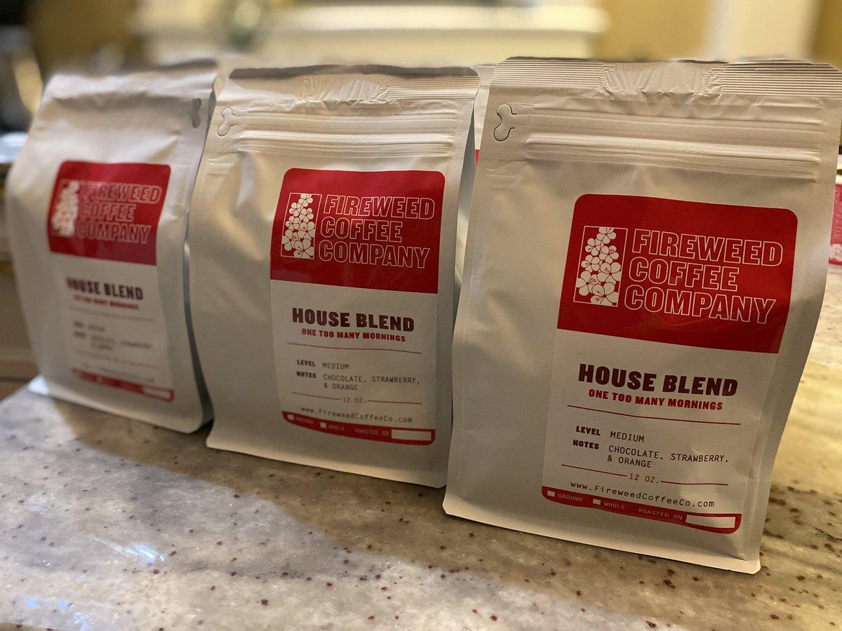 12oz bag of House Blend Whole beans