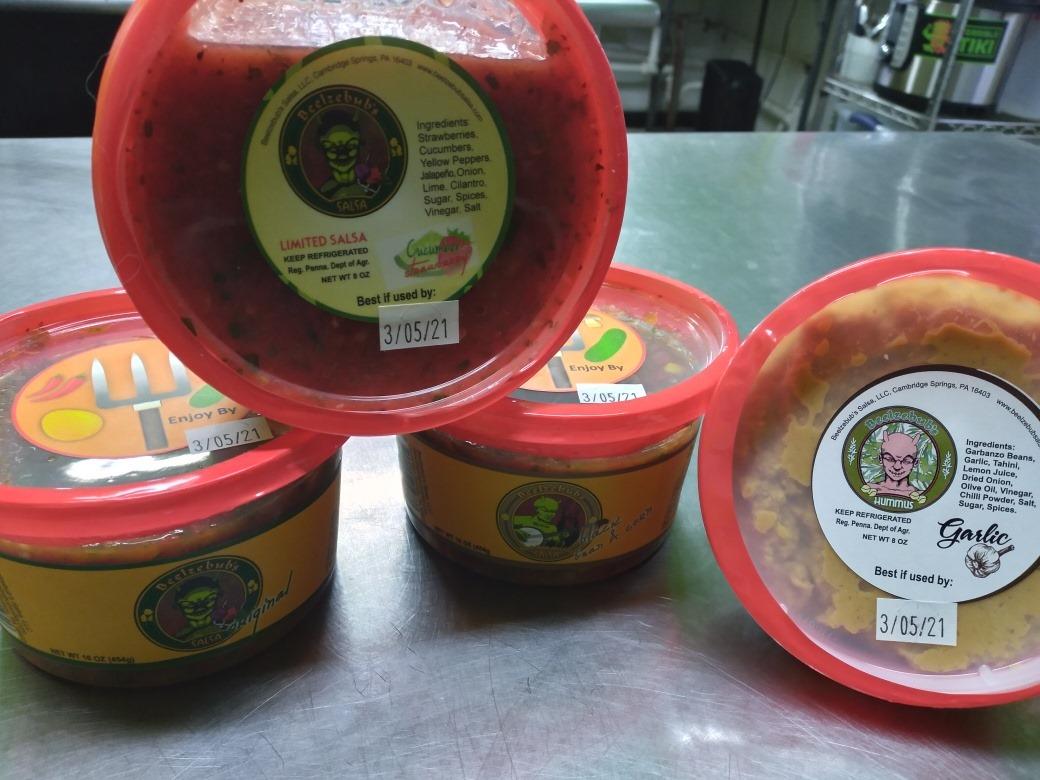 Salsa/Hummus Share