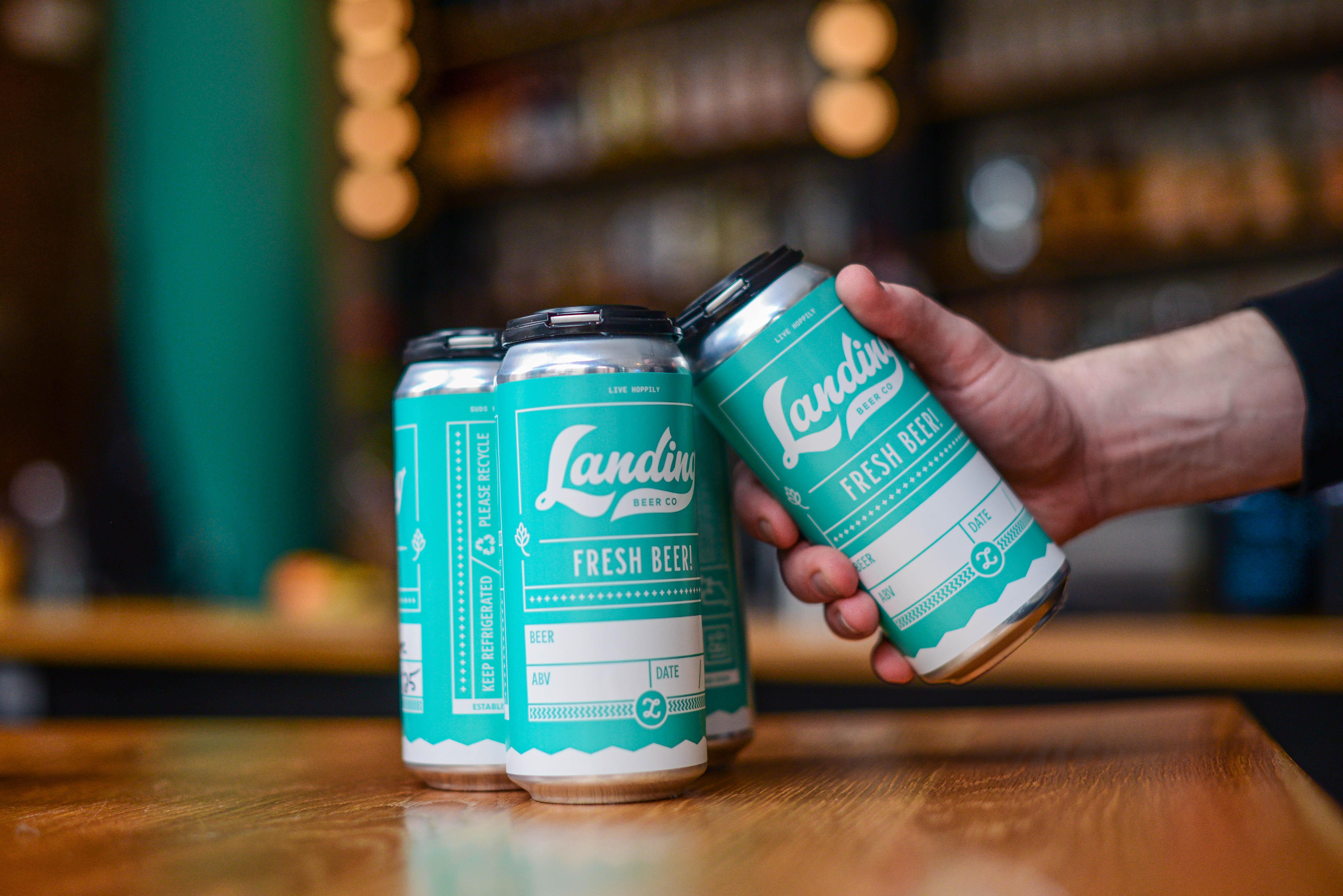 Landing Beer 4-pack