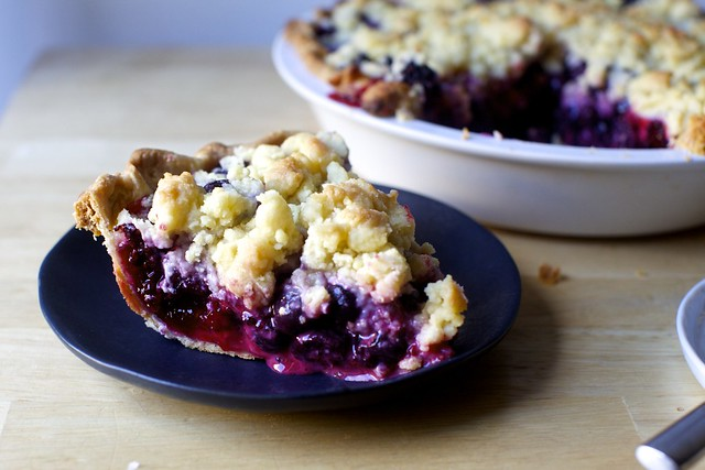 Forest Berry Crumb Pie