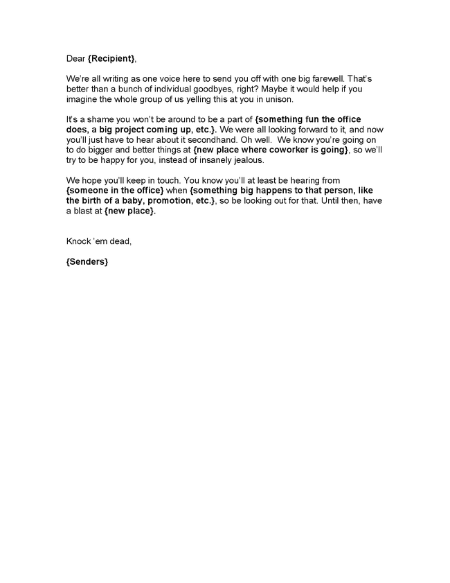 farewell letter to close coworkers | just b.CAUSE