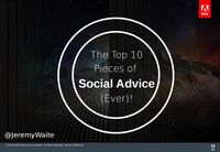 Top Ten Pieces of Social Advice