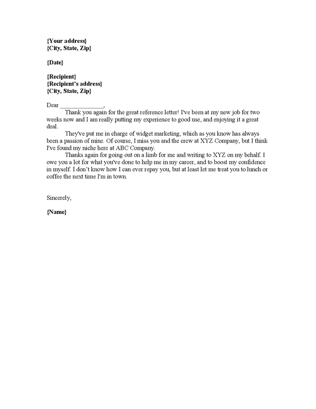 thank you letter for recommendation recommendation letter for employment driverlayer search 25108