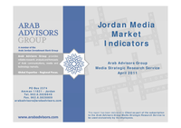 Media Market Indicators Jordan 2011