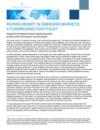 Raising Money in Emerging Markets: A Fundraising Fairytale?