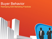 Buyer Behavior - Reshaping B2B Marketing Practices