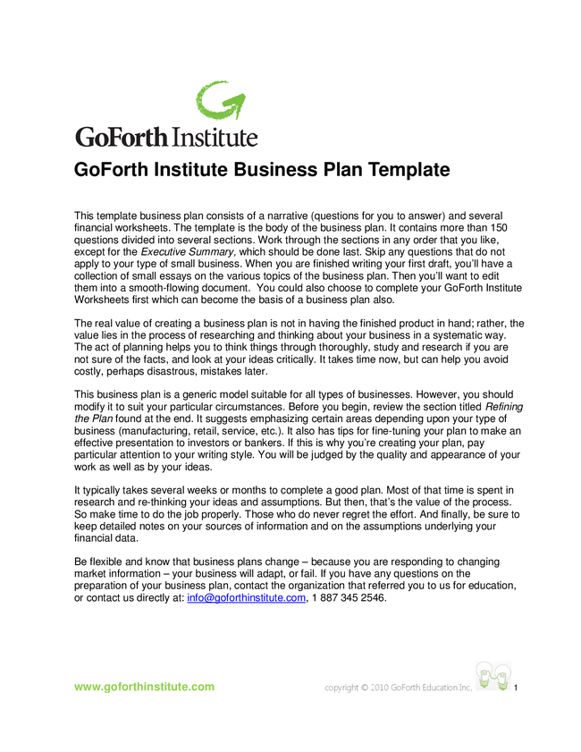 canadian business plan template - formal cover letter for an entry level job