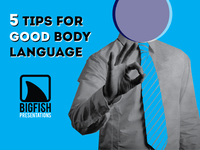 5 Tips For Good Body Language