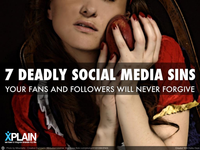The Seven Deadly Social Media Sins
