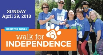 Carroll Center for the Blind's 6th Annual Walk for INDEPENDENCE