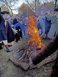 Lexington Tea Burning