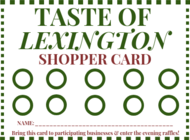 Taste of Lexington 12/6/18 from  5-9:30 PM