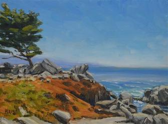 Artist Demonstration: Peter Bain, Painting the Landscape in thick & rich Oils