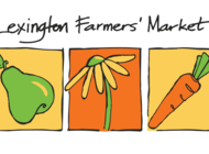 Sustainability Day, Lexington Farmers' Market, Tuesday July 9, 2:00 - 6:30 pm