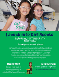 New Lexington Girl Scouts Troops for 2019-2020