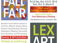 LexArt ANNUAL FALL and CRAFTS FAIR