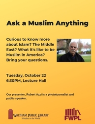 Ask A Muslim Anything