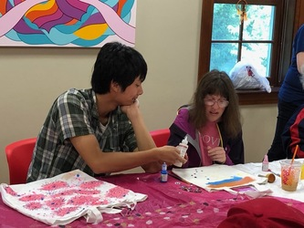 VOLUNTEER WITH THE SPECIAL NEEDS ARTS PROGRAMS