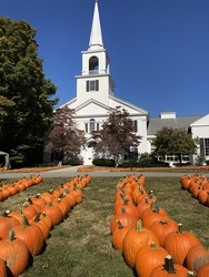 Pilgrim Church Pumpkin Patch