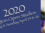 12th Annual LEXINGTON OPEN STUDIOS   SAVE THE DATES!  April 25 & 26, 2020