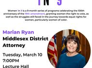 Women in 9: DA Marian Ryan