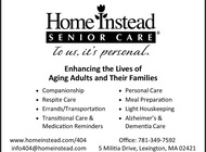 Adult/Senior Home Care Services Available