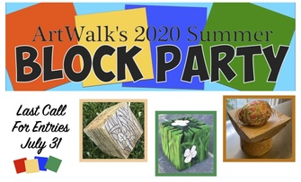 ArtWalk's 2020 Summer Block Party