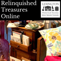 Relinquished Treasures . . . Online!