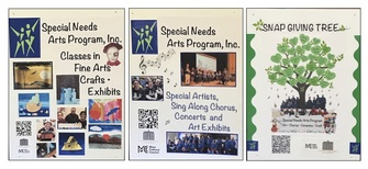 SPECIAL NEEDS ARTS PROGRAMS, REGISTER for FALL and WINTER PROGRAMS