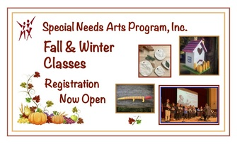 Special Needs Arts Programs, Inc.  Fall classes Registration