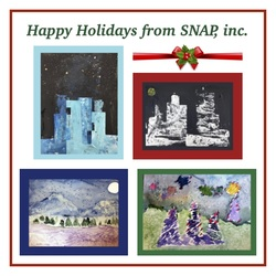 Special Needs Arts Programs, Inc., (SNAP) Holiday Note Cards