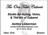 Singing & Acting Lessons