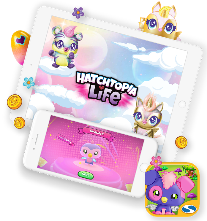 Official Hatchimals<br />Hatchtopia Life App!