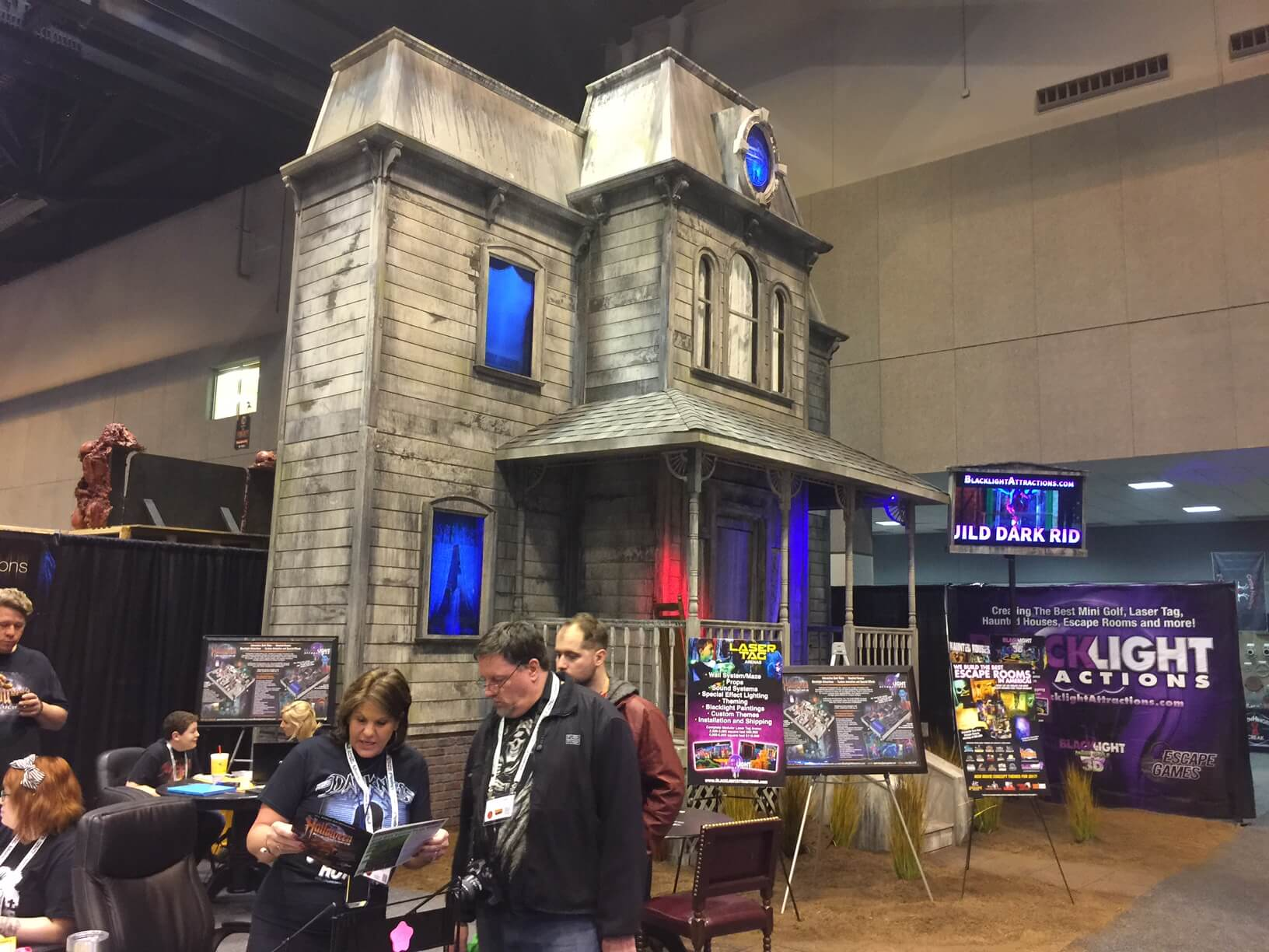 history of the haunted house industry haunted house association