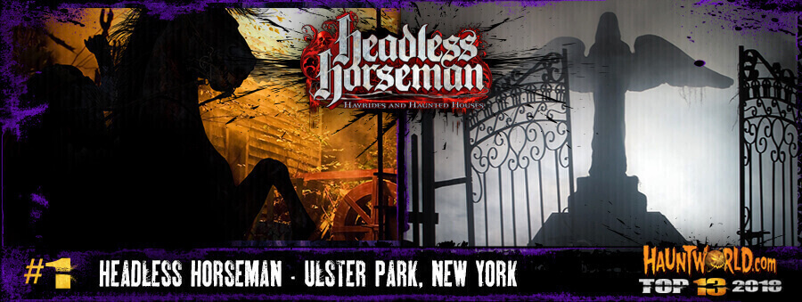 Headless Horsemans Hayrides and Haunted Houses - Ulster Park, New York