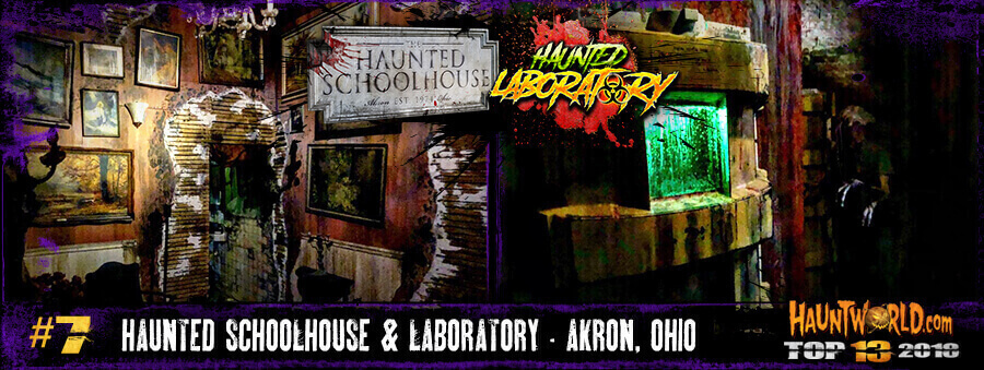 Haunted Schoolhouse and Laboratory - Akron, Ohio
