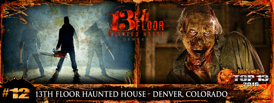 13th Floor Haunted House - Denver, Colorado