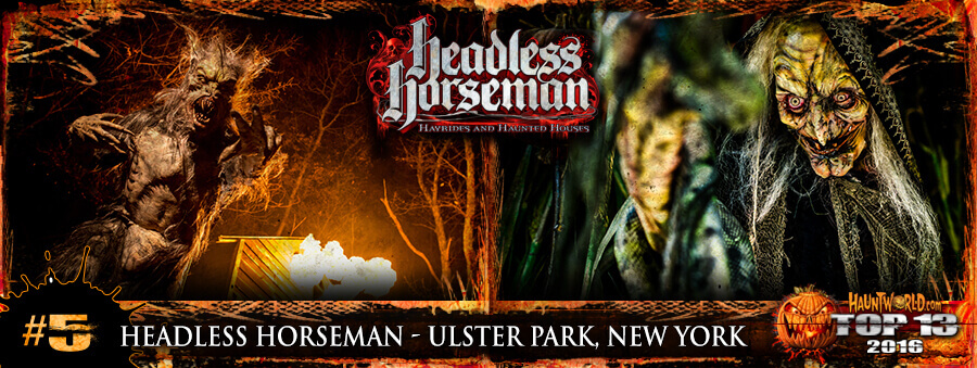 Headless Horsemans Hayrides and Haunted Houses