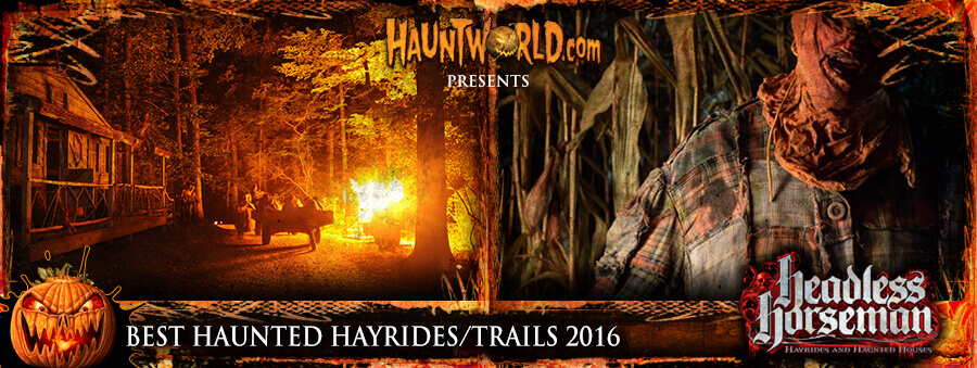 Best Haunted Hayrides and Haunted Trails