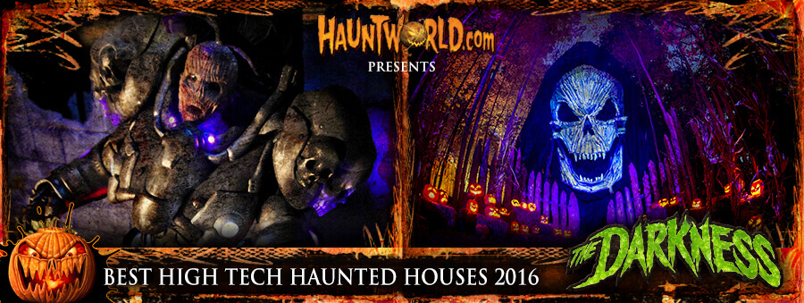 high tech haunted houses