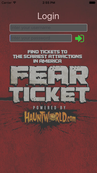 Fear Ticket Mobile App