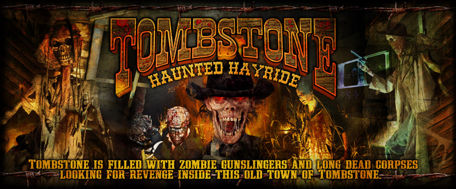 Best haunted houses in Illinois tombstone
