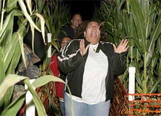 North Carolina Haunted Houses Corn Maze