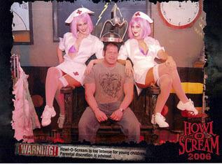 Flordia Haunted House Twin Nurses