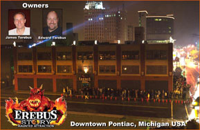 Michigan Haunted House Erebus Owners