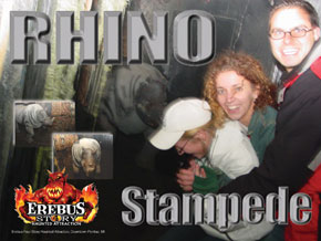 Michigan Haunted House Rhino Stampede