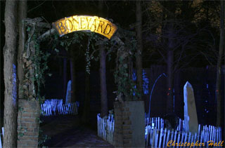 North Carolina Haunted House Boneyard