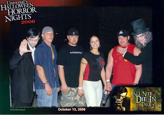 Flordia Haunted House Pose